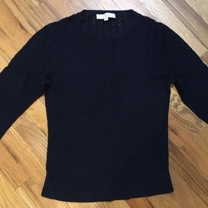 LOFT Navy Lightweight Sweater